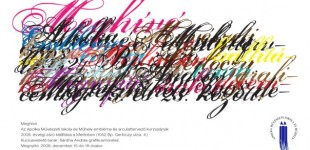 Apolka exhibition / invitation