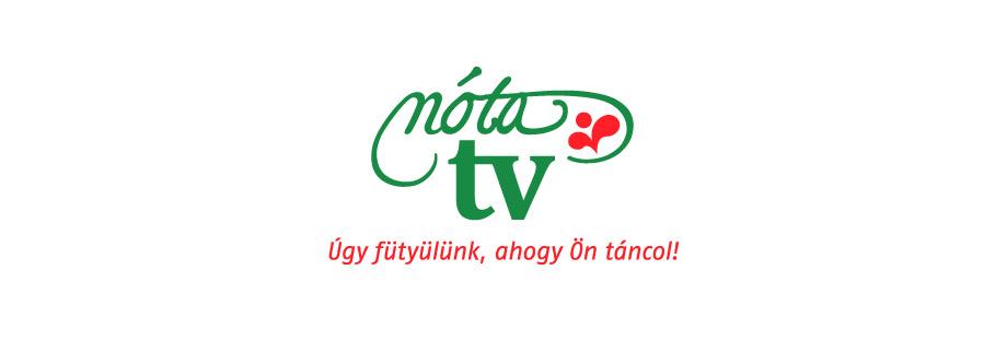 nóta TV with tagline